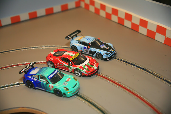 GT3 Cars on RSD Suzuka Slot Car Track!