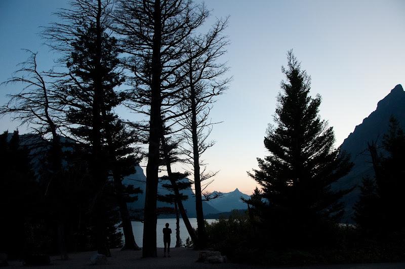 Sunset in Glacier National Park