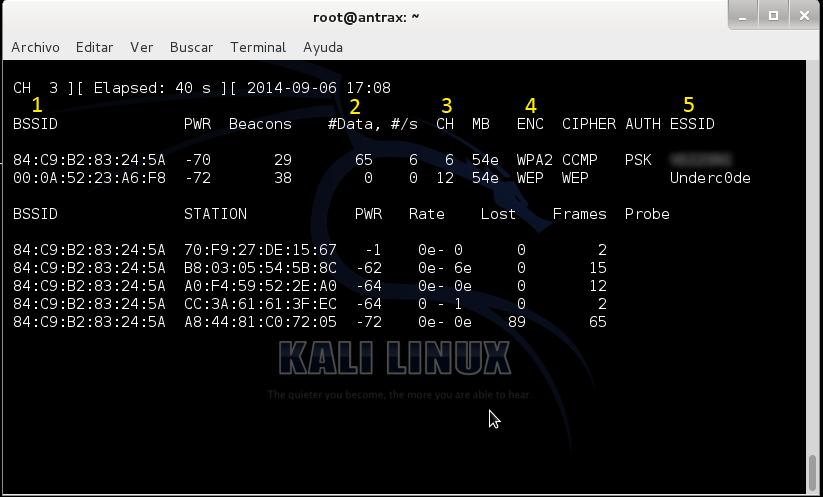 Reventando una red con cifrado WEP con un ataque ARP Request 3