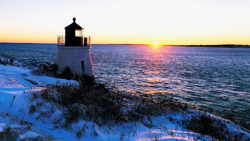 Sunset at Castle Hill Lighthouse, Newport, Rhode Island.jpg