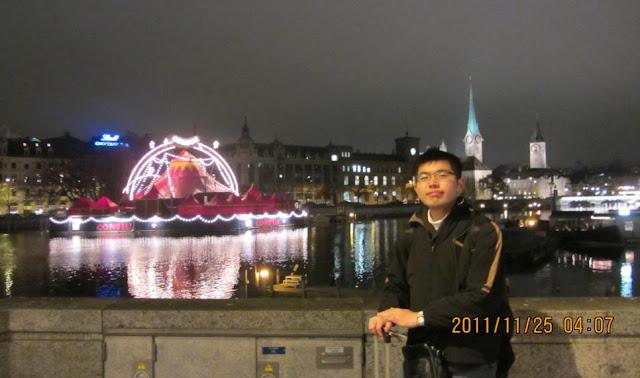 我在蘇黎世舊城與馬戲團(?)