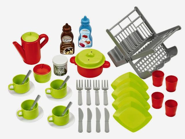 Dụng cụ nhà bếp 39 món Eco - 2619 màu sắc tươi sáng, hình ảnh chân thực