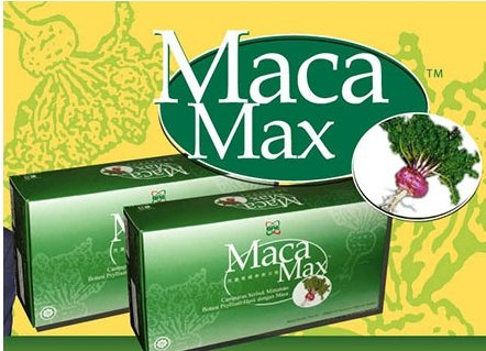 Maca Max with BAE logo