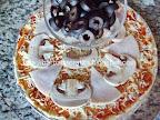 Pizza Capriciosa cu masline preparare