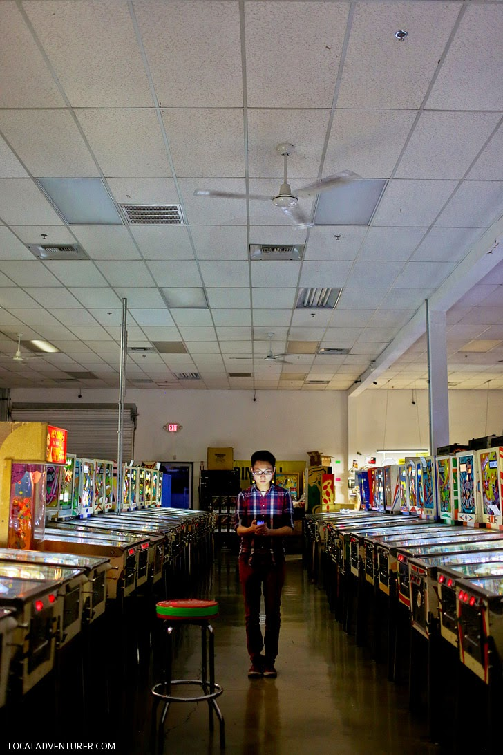 Pinball Hall of Fame Vegas - Cheap Date Ideas.