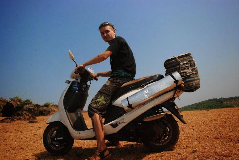 Путешествие из Гоа в Гокарну на скутере
