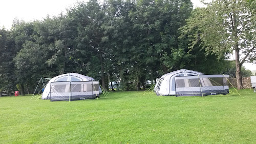 Camping  at Street Head Caravan Park