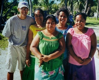 Climate Change is Ripping Apart My Adopted Family and Country Tarawa, Kiribati. Mike Roman and his family.