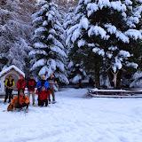 Schneeschuhwanderung zur Latscher Alm 28.12.13
