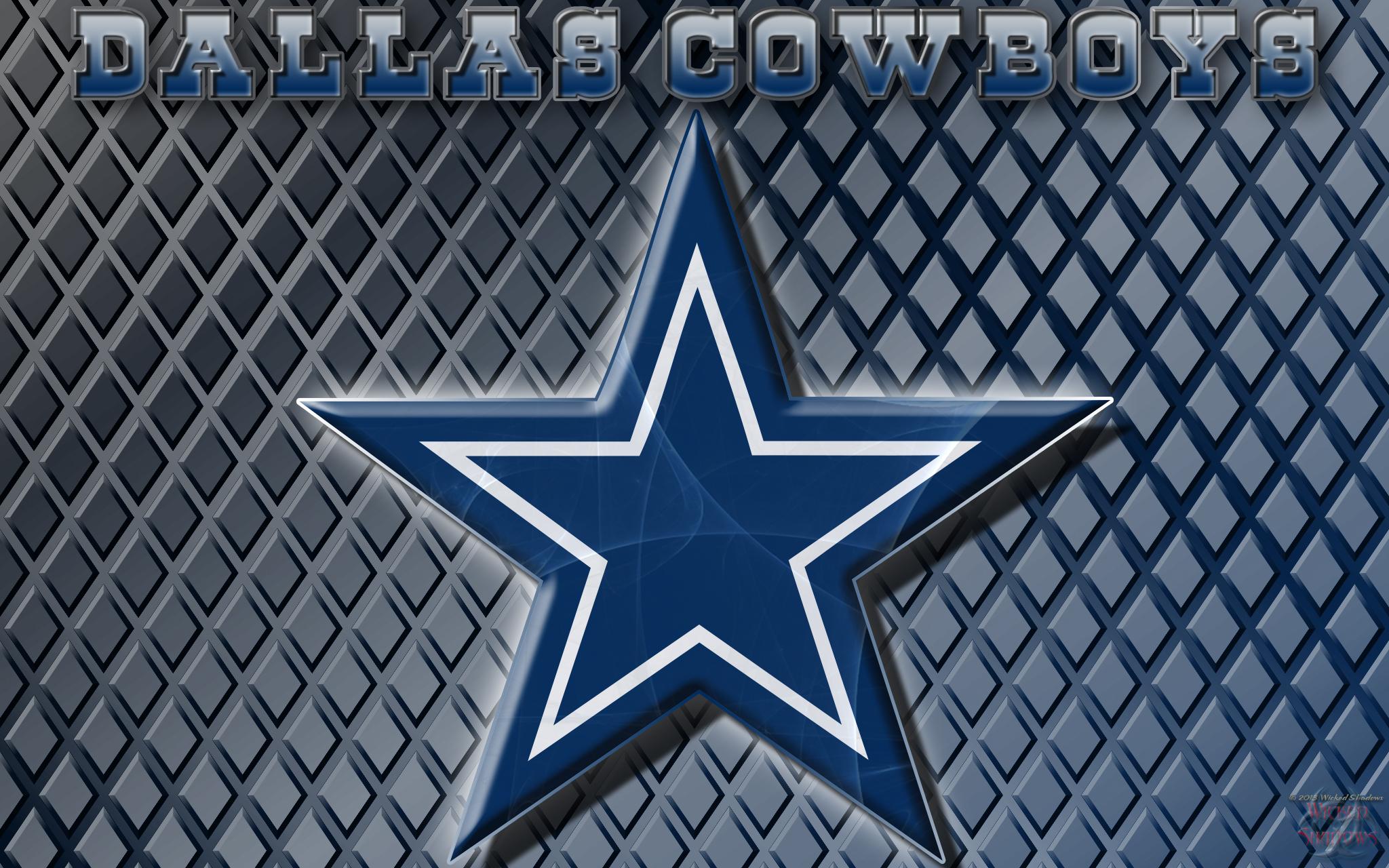 wallpapers by wicked shadows dallas cowboys logo wallpaper