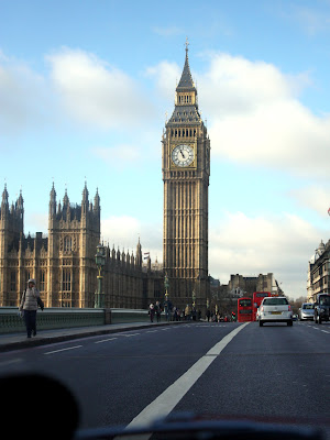 Big Ben from a Mini Cooper