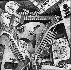 M. C. Escher — Relativity