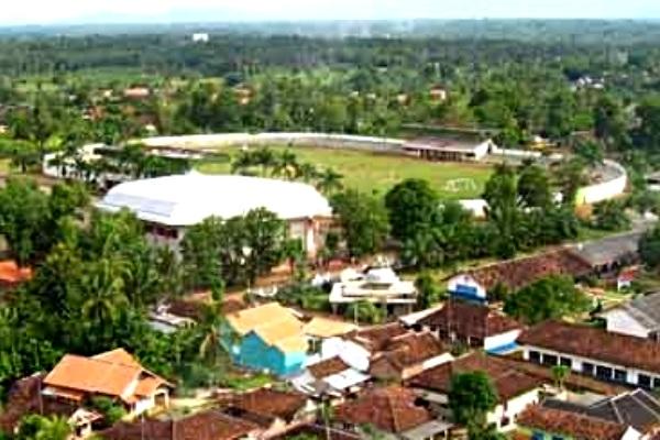 Stadion Sukung. Kotabumi Lampung Utara