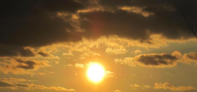 २६ मार्च २०१३ सूर्यास्त