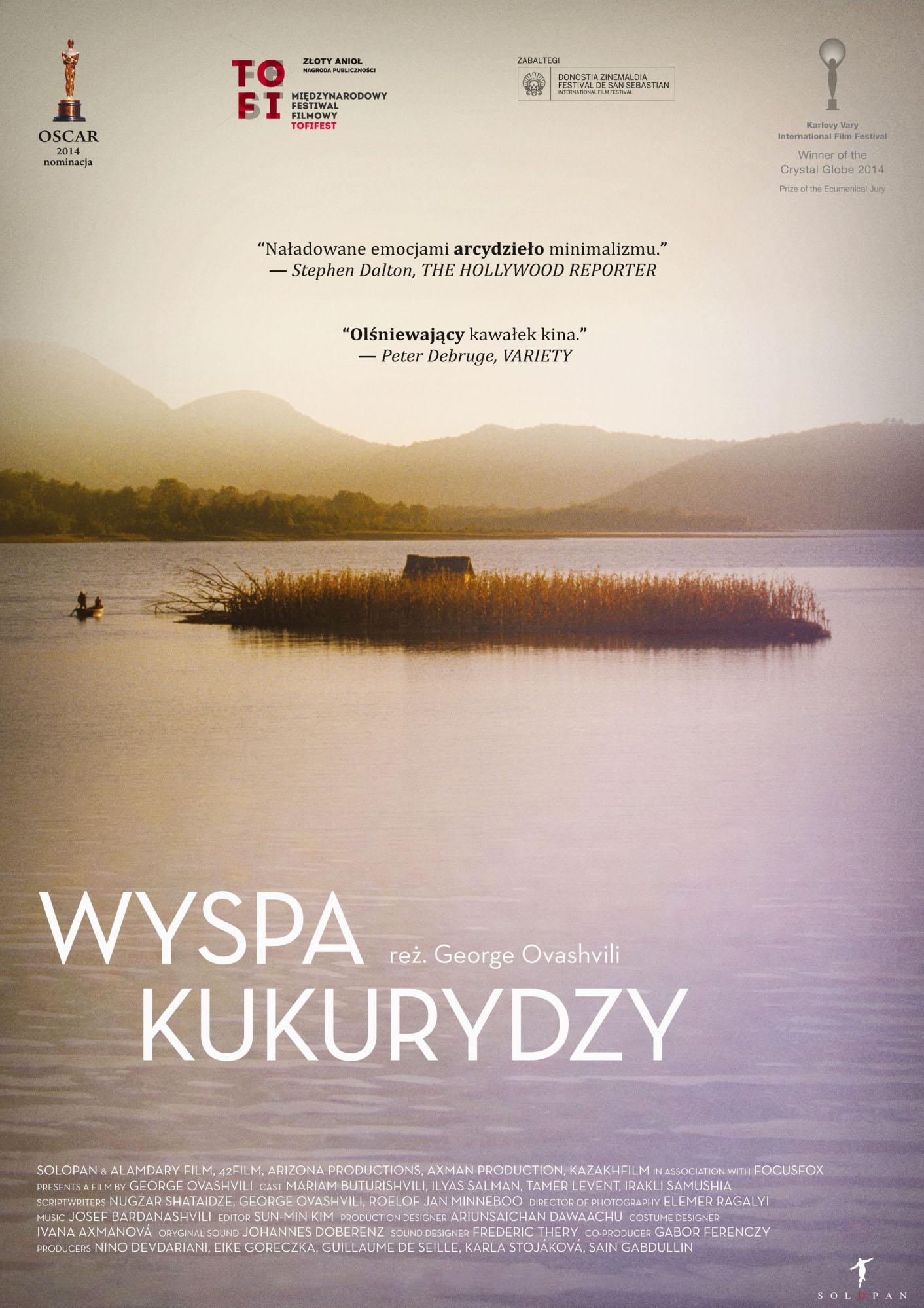 Polski plakat filmu 'Wyspa Kukurydzy'