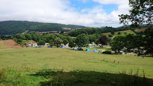 Camping  at Burrowhayes Farm Caravan & Camp Site