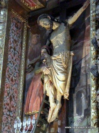 Cristo de la Paz, en la Ermita del Cristo, Labastida