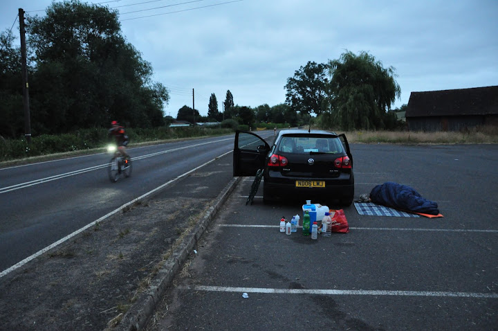 Mersey Roads 24 hour time trial 2013 - photo by Andy Taylor