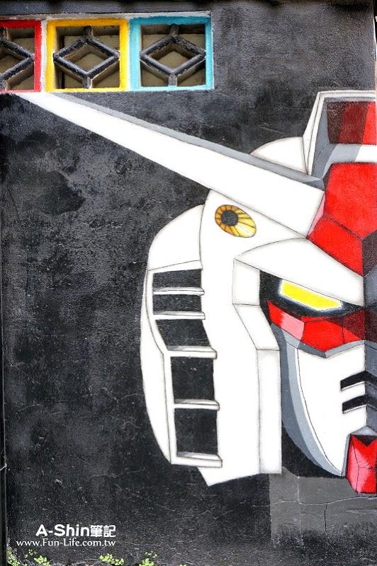 台中海賊王壁畫1