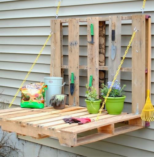 Idee outdoor di riciclo-riutilizzo creativo pallet-bancali ...