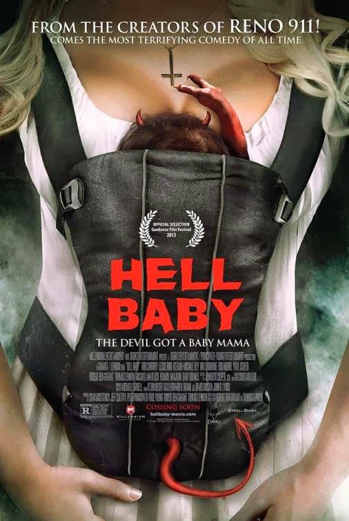 Poster Of English Movie Hell Baby (2013) Free Download Full New Hollywood Movie Watch Online At Alldownloads4u.Com