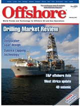 Offshore magazine cover february 2013