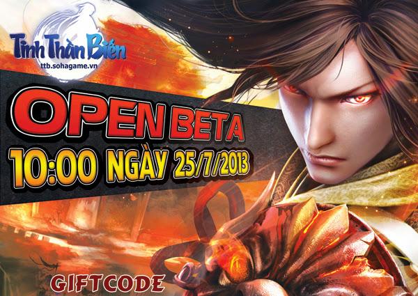 Tinh Thần Biến tặng 200 giftcode đặc biệt 2
