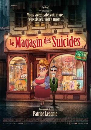 Filme Poster A Pequena Loja de Suicídios DVDRip XviD & RMVB Legendado
