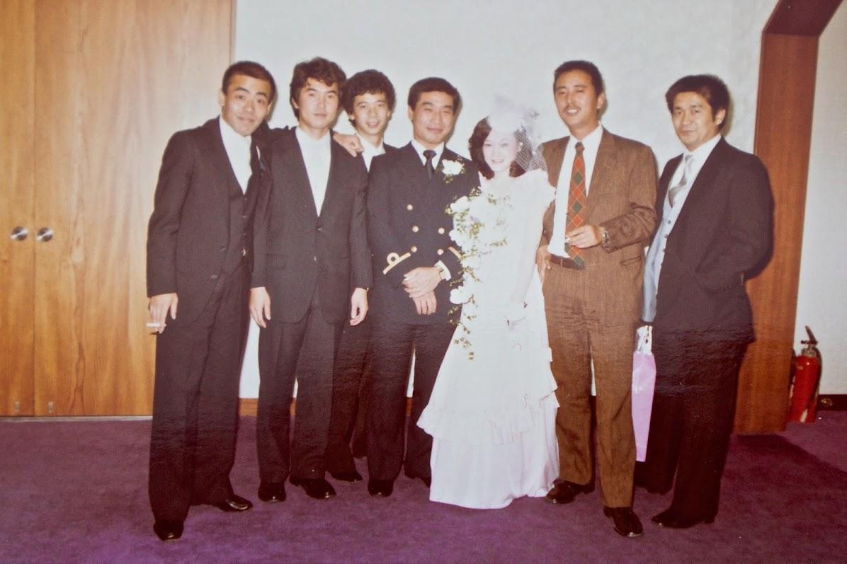 明治記念館での結婚式(1982年10月2日)