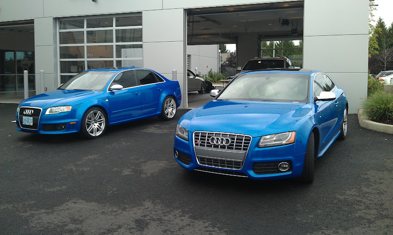 Sprint Blue B7 RS4 and S5