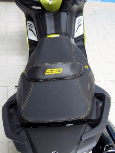 SELLA TMAX 530 COPRISELLA SEAT COVER MOTO PERSONALIZZATA YAMAHA T MAX