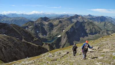 Cresta de les Antiques, Mont Valier