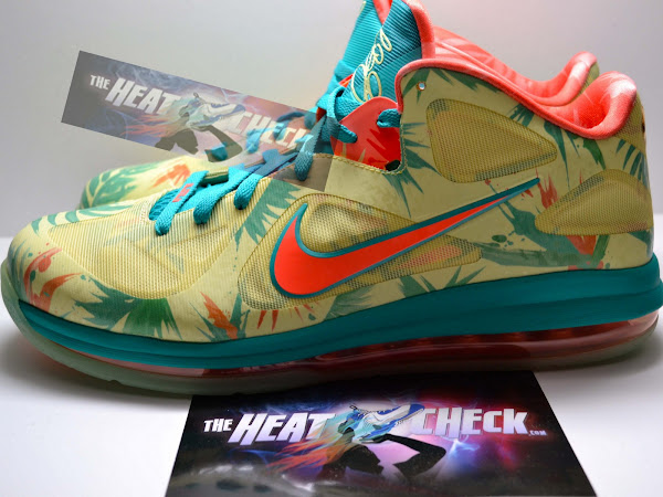 Detailed Look at LeBron 9 Low 8220LeBronold Palmer8221 Player Exclusive