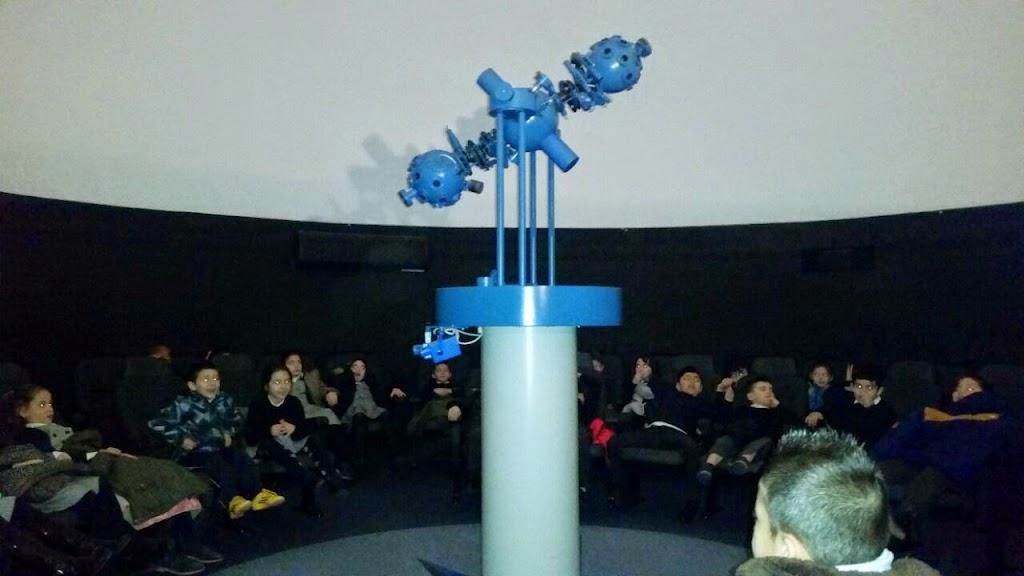 Visitamos el Planetario de Santander