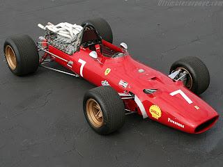 ferrari 312 f1 año 1967
