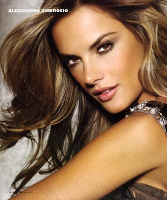 alessandra ambrosio hair 2009. These are my thoughts on hair,
