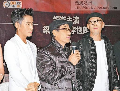 Don(左起)、劉俊輝及Eddie早前才出席新戲記者會,最近卻傳出因劇本問題而要押後開拍。