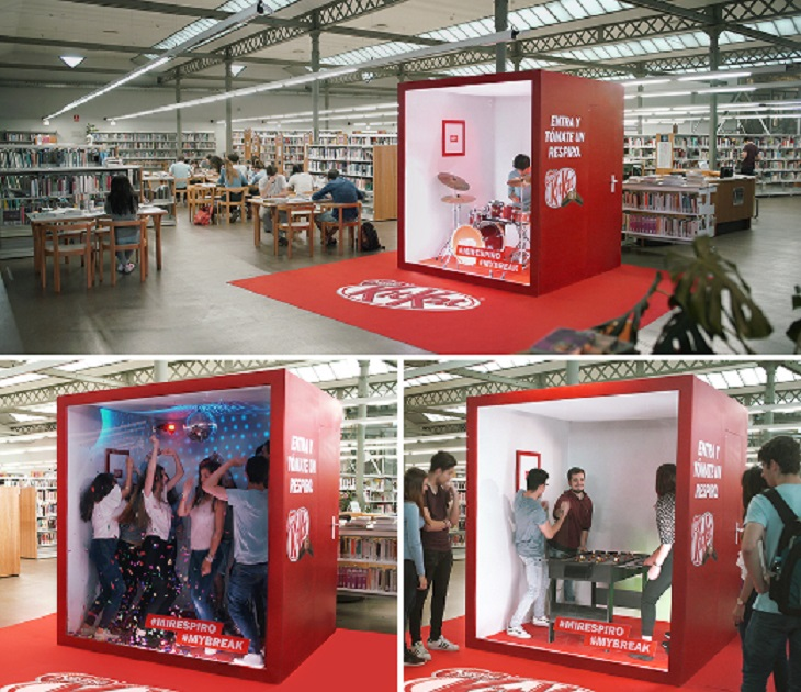 Kit-Kat Spain: What Every Library In The World Needs To Have Installed Now