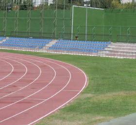 Nueva pista de atletismo en el Centro Deportivo Municipal de Moratalaz