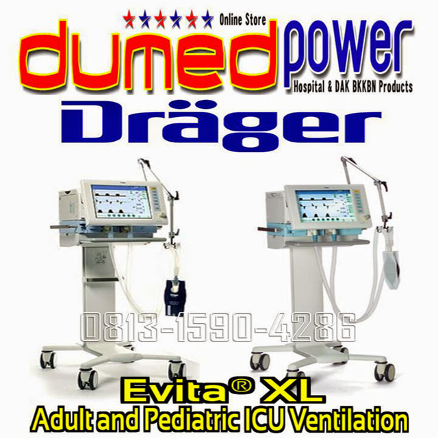 Ventilator-ICU-Evita-XL-Adult-and-Pediatric-Made-in-Germany