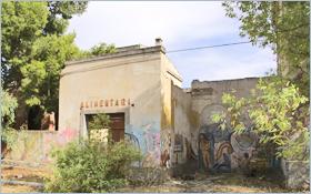 Sizilien - Das verfallene Dorf 'Borgo Schirò'.