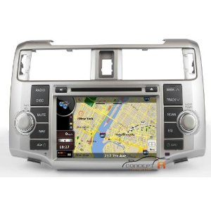 Low Cost 2012 Toyota 4Runner In-dash Vehicle DVD GPS Navigation