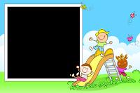 molduras-para-fotos-gratis-criancas-play-ground