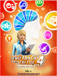 Brain Challenge 4 : Breaking Limits [By Gameloft] (Tiếng Việt) BCL1