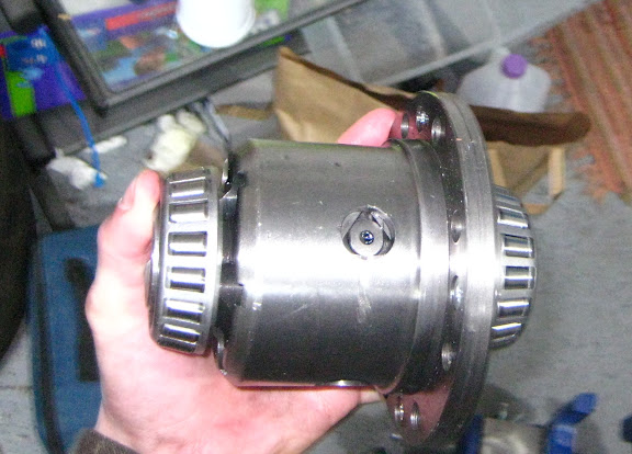 DIY: Upgrading or replacing Rear Differential r160