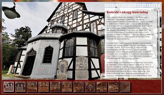 wirtualna wycieczka kościół pokoju