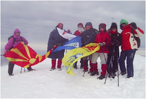 Makedonija, Šar planina (Ljuboten 2498m) 11.-13.11.2009.