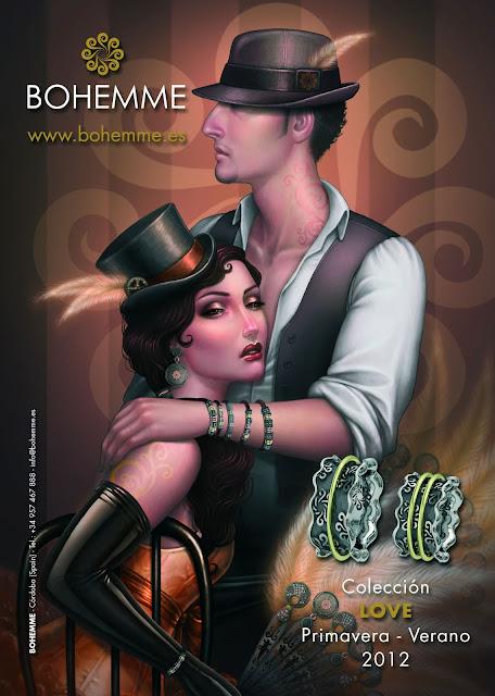 Bohemme, colección Love primavera verano 2012