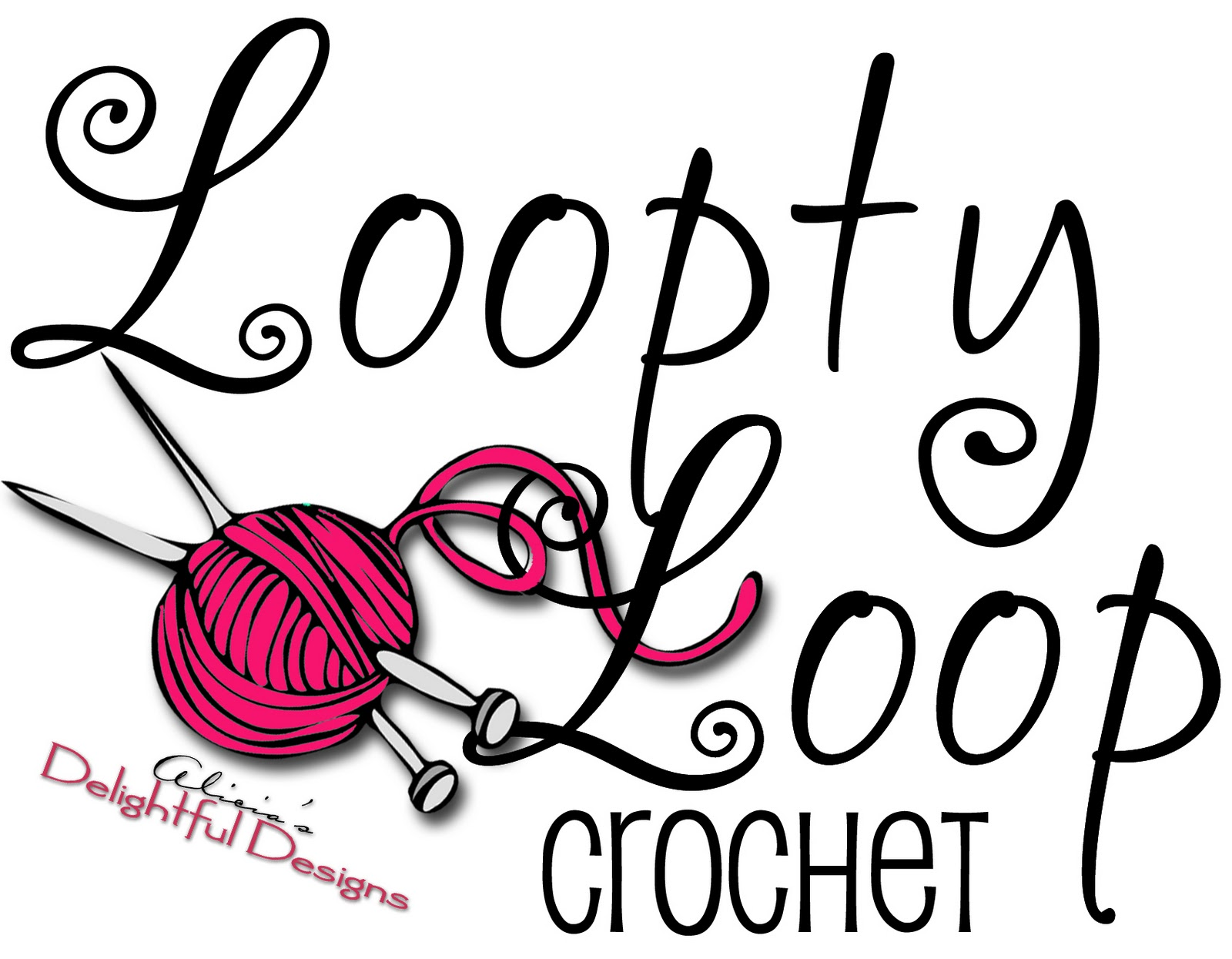 Logo Crochet : Alicias Delightful Designs: March 2011