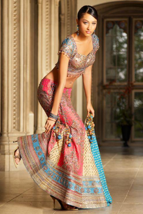 Lea Michele 2011 Indian Bridal Dresses